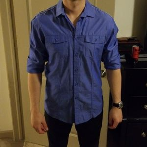 Mens stylish button shirt